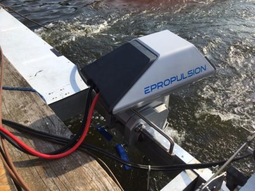Epropulsion Elektromotor Solar-Floß